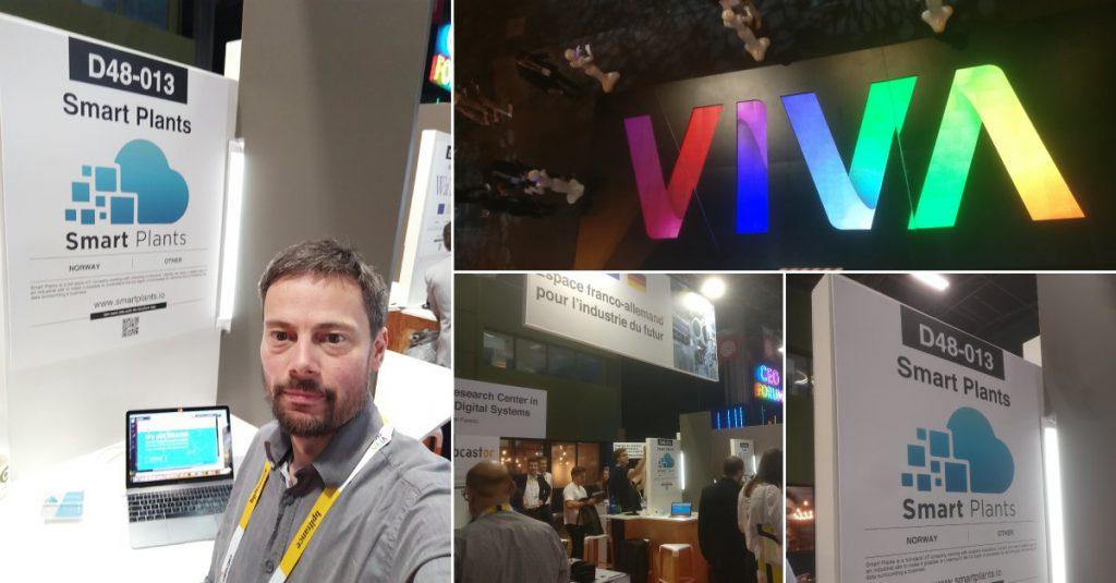 Smart Plants CTO at VIVA Tech event